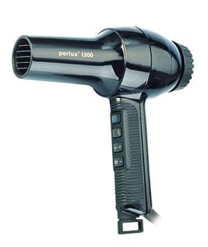 Parlux Secador de pelo de 1300 W, color negro: Amazon.es: Salud y cuidado personal