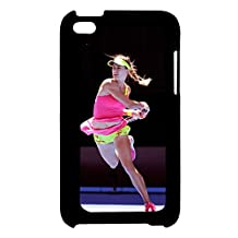 Printing Eugenie Bouchard For Touch 4 Apple Abstract Back Phone Covers For Girl Choose Design 5