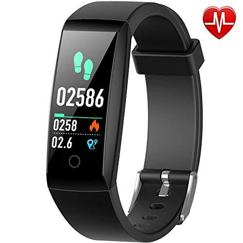 Yacikos Fitness trackers, Heart Rate Activity Tracker Fitness Watch Waterproof...