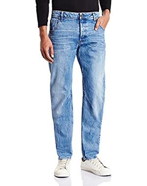 Men's Arc 3D Slim Jean in Hadron Stretch Denim