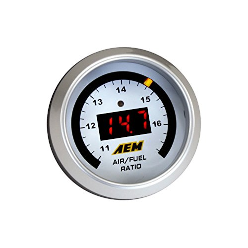 AEM (30-4110) UEGO Air/Fuel Ratio Gauge (Digital Fuel Gauge)