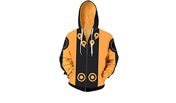 Amazon.com: WEEKEND SHOP Hoodie Japanese Anime Naruto Hoodie Hoodies 3D Zipper Sweatshirt Man Sweatshirts: Clothing