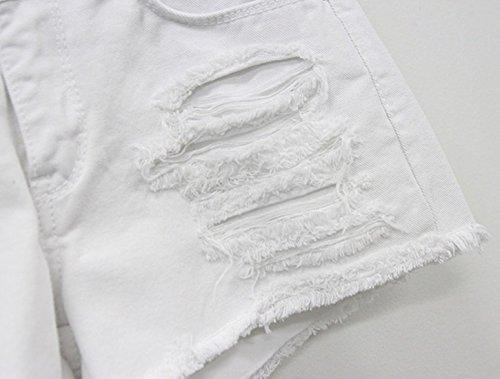 Chouyatou-Womens-Perfectly-Fit-5-Pockets-Ripped-Denim-Jean-Shorts