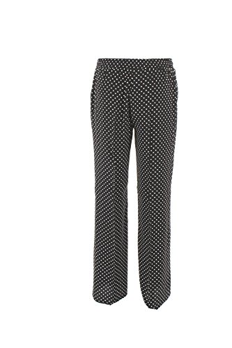 Pantalone Donna Twin-set 50 Nero/bianco Ps82mq Primavera Estate 2018