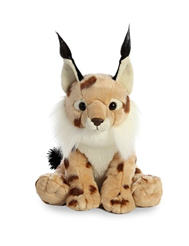 Aurora World Destination Nation Lynx, Light Brown, Medium (Bobcat Animals)