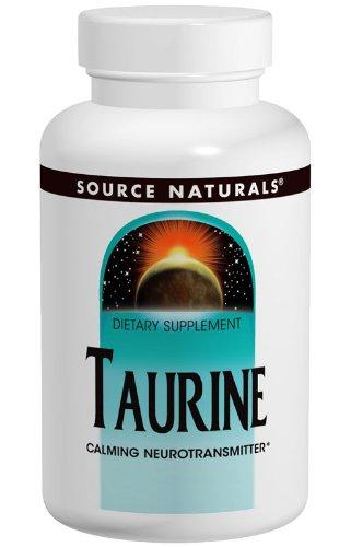 Source Naturals, Taurine 1000, 1,000 mg, 240 Capsules