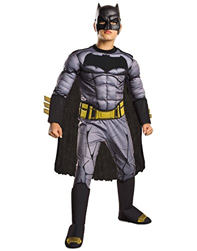Rubie's Batman v Superman: Dawn of Justice Deluxe Muscle Chest Batman Costume, Medium -