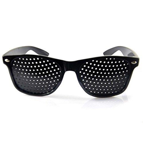 Walmeck Anti-fatigue Eyesight Vision Improve Pin Holes Stenopeic Pinhole Glasses Eye Care Glasses