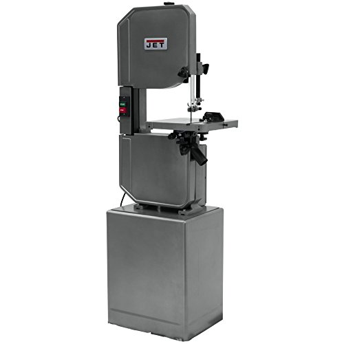 JET J-8201VS 14-inch Wood/Metal Vertical Variable Speed Bandsaw (Cutting Speed Lathe)