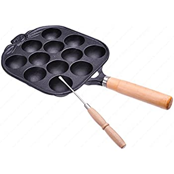 Amazon.com: M.V. Trading M410644V Cast Iron Takoyaki ...