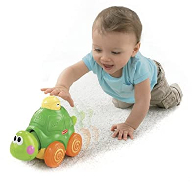Fisher-price Go Baby Go Press And Crawl Turtle by Fisher-Price