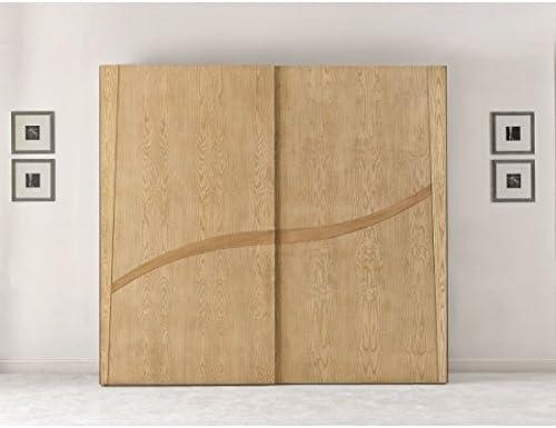 Estense – Armario puertas correderas de madera maciza color ...