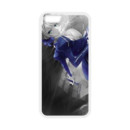 Fate Stay Night 012 coque iPhone 6 4.7 Inch Housse Blanc téléphone portable couverture de cas coque EOKXLLNCD12936