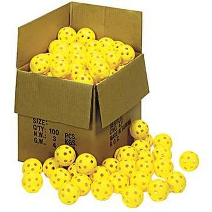 Markwort 9'' Harder/Firmer Plastic Balls from Set of 100 by Markwort