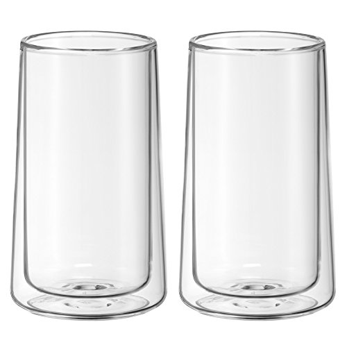 WMF 2-Piece Glass Ice-Tea Double-Walled Glass Set, (Wmf Ice)