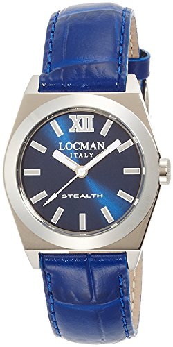 LOCMAN watch stealth Lady Quartz Ladies 0204 020400BLFNK0PSB Ladies