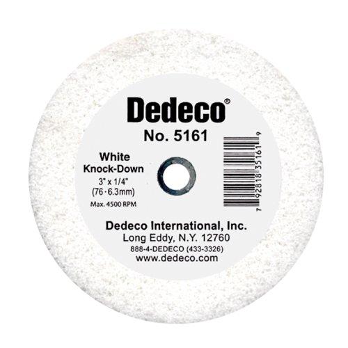 """Dedeco 5161 White Knock Down Wheel, 3"""" x"""