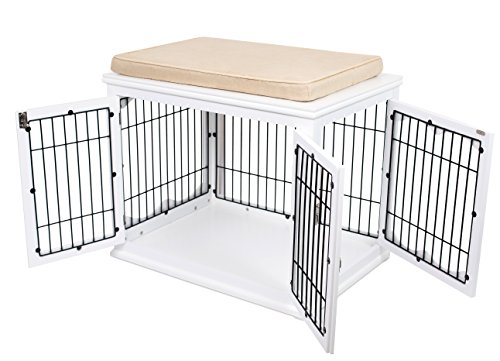 Small Wooden End Table Pet Cage Crate Or Pet House Indoor