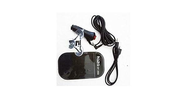 Kaza Kit de Accesorios para Detectores de Radar DT310/350/380: Amazon.es: Coche y moto