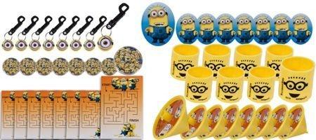 Party Supplies Despicable Me Favor Pack 48pc -