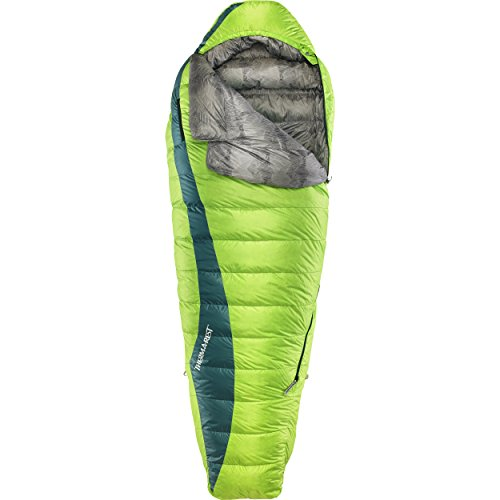 Therm-a-Rest Questar 20-Degree Lightweight Down Mummy Sleeping Bag, Long ()