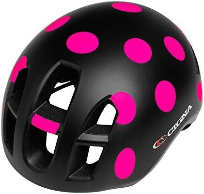 John-L Casco Bicicleta, Casco Bicicleta Mujer con Gorra ...