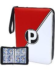 Prezza Pokémon Verzamelmap - Map Geschikt Voor 400 Kaarten - Pokemon Kaarten Album - Ergonomisch Design - Box