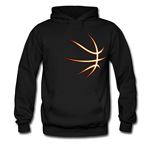 Love Basketball - Gift Idea for Basketball Fans / Player Cool Men Hoodie Fighting