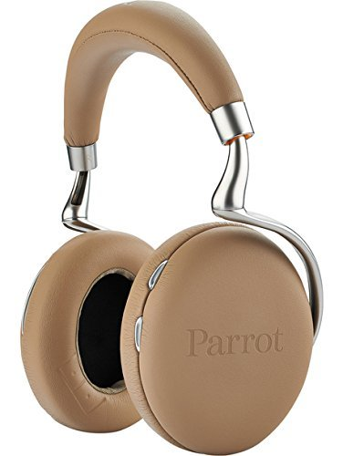 Parrot Zik 2.0 Wireless Noise Cancelling Headphones (Mocha) [並行輸入品] B07DZJK5LN