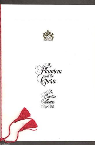 "Michael Crawford ""PHANTOM OF THE OPERA"" Sarah Brightman 1988 Souvenir Program"