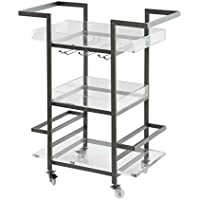 Treasure Trove Accents 17213 Three Tier Bar Cart