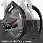 Spin-Bike-Allenatore-Domestico-Silent-Indoor-Cyclette-Pedale-Sportivo-Bicicletta-Dispositivo-Fitness-Doppia-Staffa-Ruote-all-Inclusive-Color-Black-Size-111-545-125cm