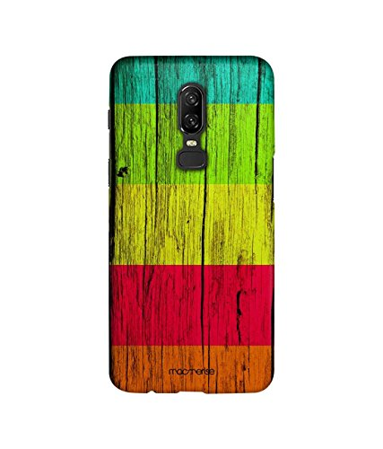 (Wood Stripes Ensemble - Sublime Case for OnePlus 6)