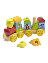 Melissa & Doug Disney Baby Winnie the Pooh Wooden Stacking Train (14 pcs) BOBEBE Online Baby Store From New York to Miami and Los Angeles