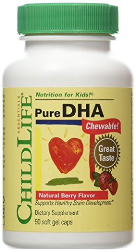 - Child Life Pure DHA Dietary Supplement, 90 Soft Gel Capsules (Pack of 2)