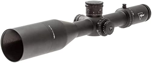 Trijicon, AccuPower 4.5-30x56mm Long Range Riflescope, 34mm Tube, Second Focal Plane, Red/Green MOA Crosshair Reticle, Matte Black