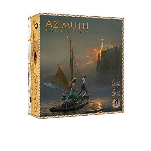 Tyto Games Azimuth: Ride The Winds, 2-4 Player Strategy Boardgame with Co-op Game ()