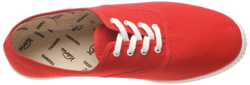 Lona Unisex Inglesa Red Rouge Victoria Adulto Sneaker Rosso tg6dw5q