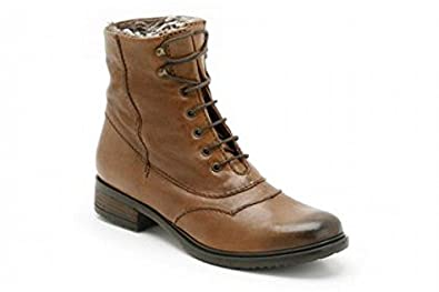 ee706d55a463d Clarks Womens Mortimer Jane Tan Leather Boots 5.5D  Amazon.co.uk ...