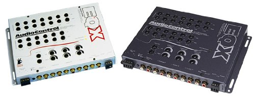 AudioControl EQX-GRAY 7 Band Trunk Mount Equalizer W/ Crossover Gray by AudioControl