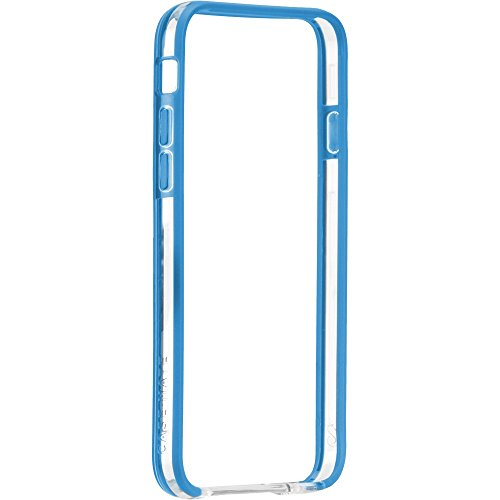 Case-Mate 4.7-Inch Tough Frame for iPhone 6 - Retail Packaging - Clear/Olympian Blue