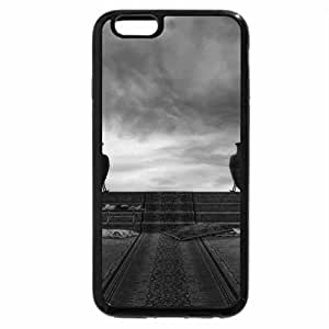 iPhone 6S Case, iPhone 6 Case (Black & White) - The Antiquity