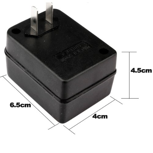 Price comparison product image LiChiLan AC Power Converter, 50W Step Up Voltage Converter Transformer 110V to 220V Adapter