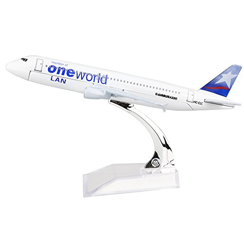 (24-Hours LAN Airlines Oneworld Alliance A320 Alloy Metal Models Child Birthday Gift Plane Models Toys)