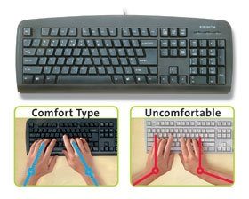 ALIMED 77916 USB/PS2 Keyboard Black