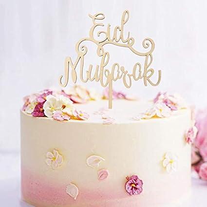 Amazon com: Eid Party - Wood Eid Mubarak Ramadan Wedding
