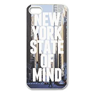 New York State of Mind iPhone 5 Case Hard Back Cover Case for iPhone 5 by runtopwell