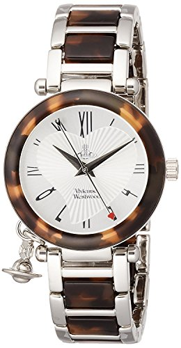 Vivienne Westwood watch ORB Silver Dial Stainless Steel Quartz VV006SLBR Ladies