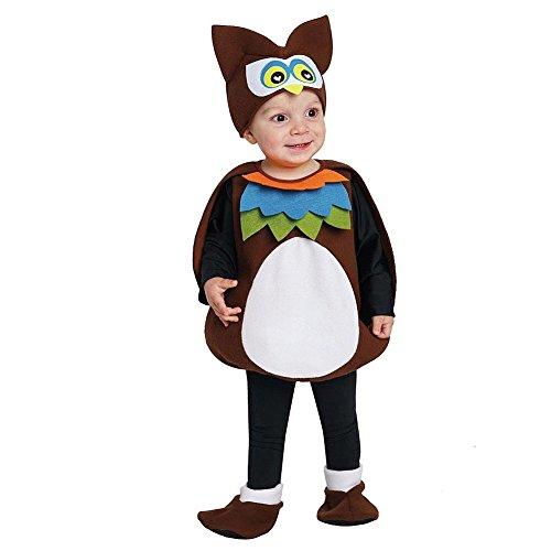 [Owl Vest Halloween Costume Infant/Toddler (1-2 Years)] (Infant Owl Halloween Costumes)