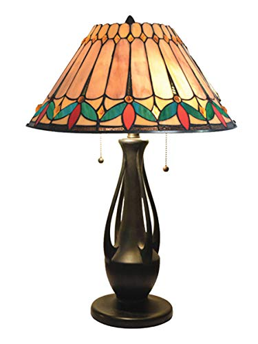 - Dale Tiffany TT18175 Jardin Table Lamp Dark Antique Bronze